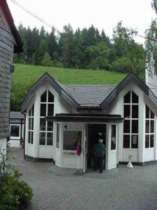 Nordenau cave entrance